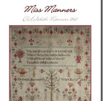 Miss Elizabeth Manners 1843