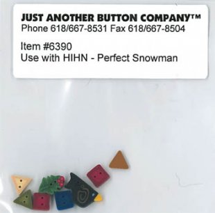 Perfect Snowman Button Pack