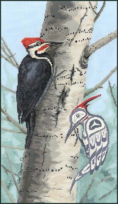Woodpecker by Stitching Studio, The