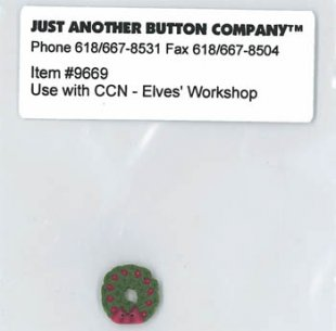 Santa's Village 11-Elves Workshop Button Pack
