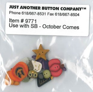 October Comes Button Pack