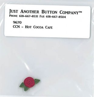 Santa's Village 12-Hot Cocoa Btn Pk (9670.G) by Just Another Button Company