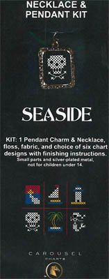 Seaside Necklace Kit by Carousel Charts