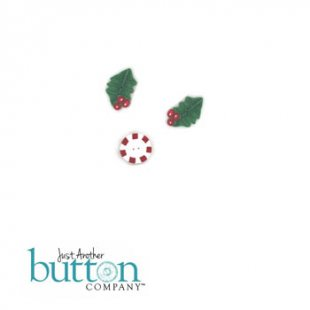 Merry Christmas Pillow Button Pack