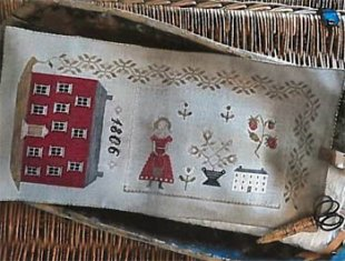 1806 Manor House Sewing Roll
