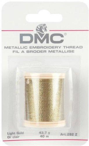 DMC Metallic Embroidery Thread Gold 282ZA