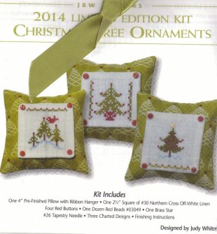 Christmas Tree Ornaments 2014 Limited Edition
