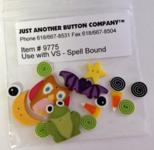Spell Bound Embellishment Pack