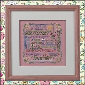 Summer Typography by Just Nan
