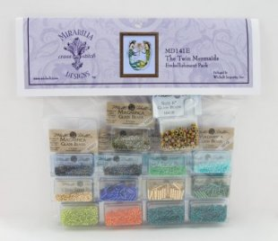 Twin Mermaids Embellishment Pack