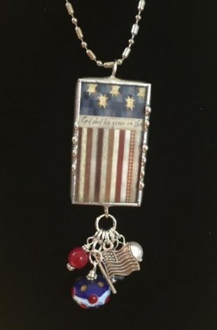 Patriotic Necklace One
