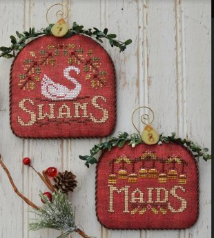 12 Days of Christmas Part Four Swans and Maids
