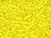 Mill Hill Crayon Seed Beads Yellow 02059