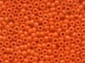 Mill Hill Crayon Seed Beads Orange 02061