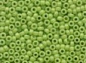 Crayon Yellow Green Beads 02066