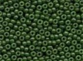 Mill Hill Opaque Moss Glass Beads 02094