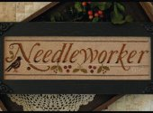Needleworker with threads