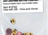 Hive and Home Button Pack