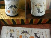 Halloween Menagerie Drum Wrap