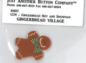 Gingerbread Village 7 Button Pack