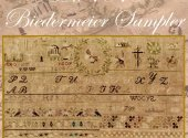 1840 Biedermeier Sampler