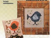 Checkerbird with embellishment