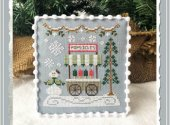 Snow Village 6 - Popsicle Cart
