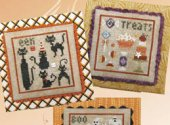 Halloween Square Dance with embellishment pack