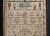 Ann Dale Sampler by Shakespeare Peddler cross stitch