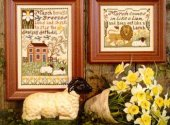 March Daffodil Cross Stitch Pattern