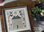 Blackbird Designs Farm House Cross Stitch