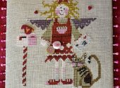 February Angel Small Cross Stitch Pattern by Raise the Roof