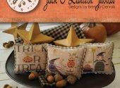 Jack O Lantern Jubilee with fabric cut 40 Ct