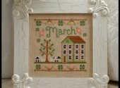 Country Cottage Needleworks March Cottage Cross Stitch Pattern