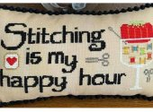 Stitching Is My Happy Hour