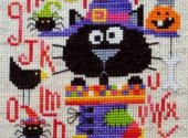 Barbara Ana Designs Spooky ABC Halloween Cross Stitch Pattern