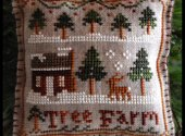 Christmas Ornament small cross stitch pattern