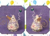 Birthday Mouse Limited Edition Ornament