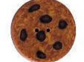 Chocolate Chip Cookie Button