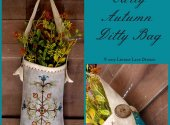 Early Autumn Ditty Bag