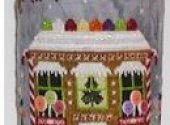 Gingerbread Cottage Drum