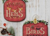 Days Of Christmas Part Two Hens and Birds